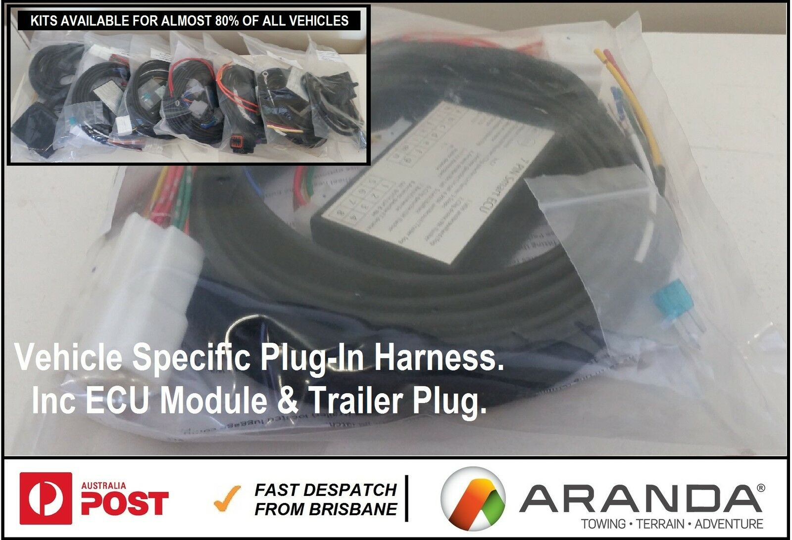 Plug In Towbar Trailer Wiring Harness Ecu Mercedes B Class W245 Kits 1 Of 2only 3 Available