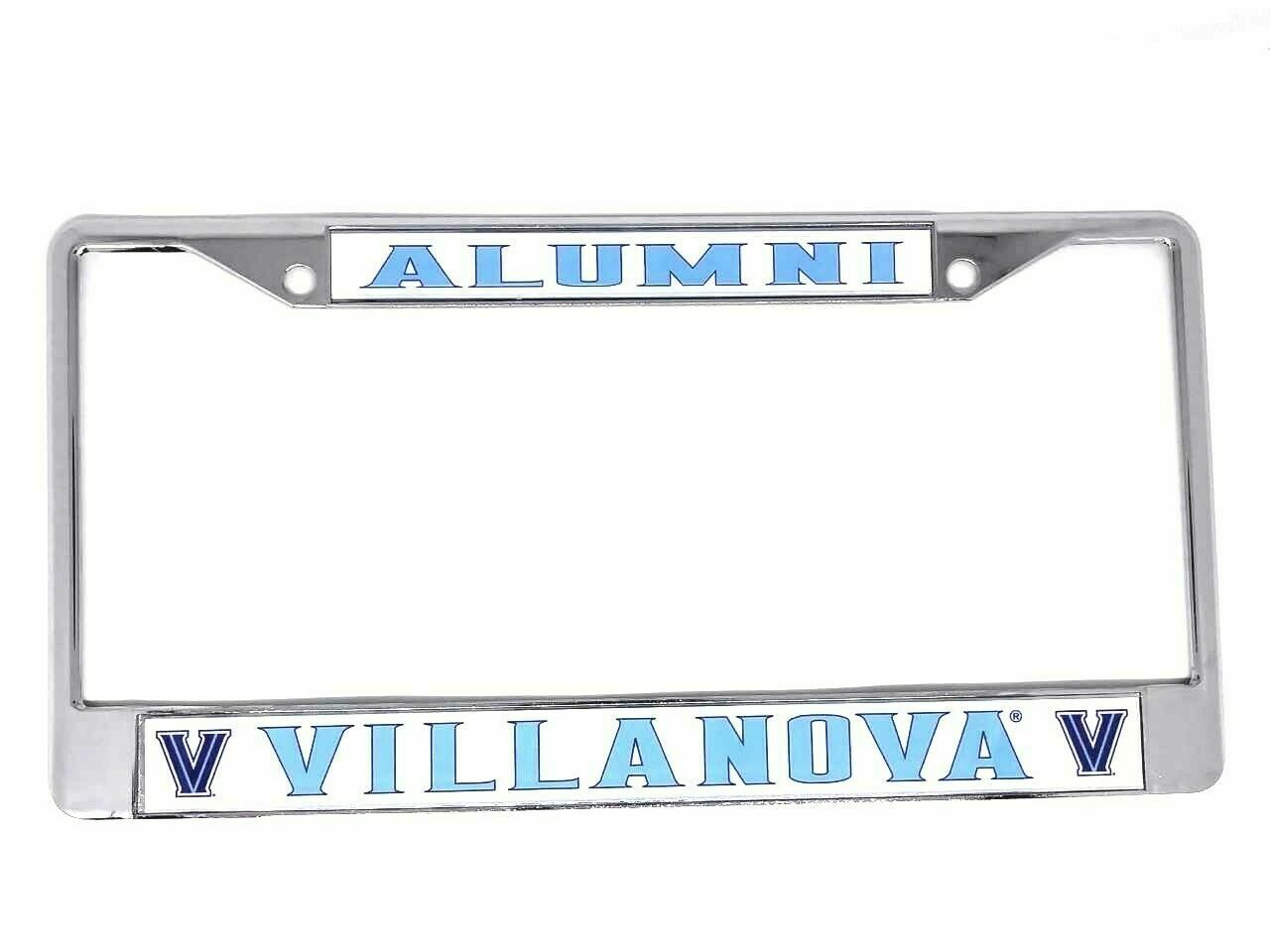 VILLANOVA UNIVERSITY ALUMNI License Plate Frame - $22.00 | PicClick