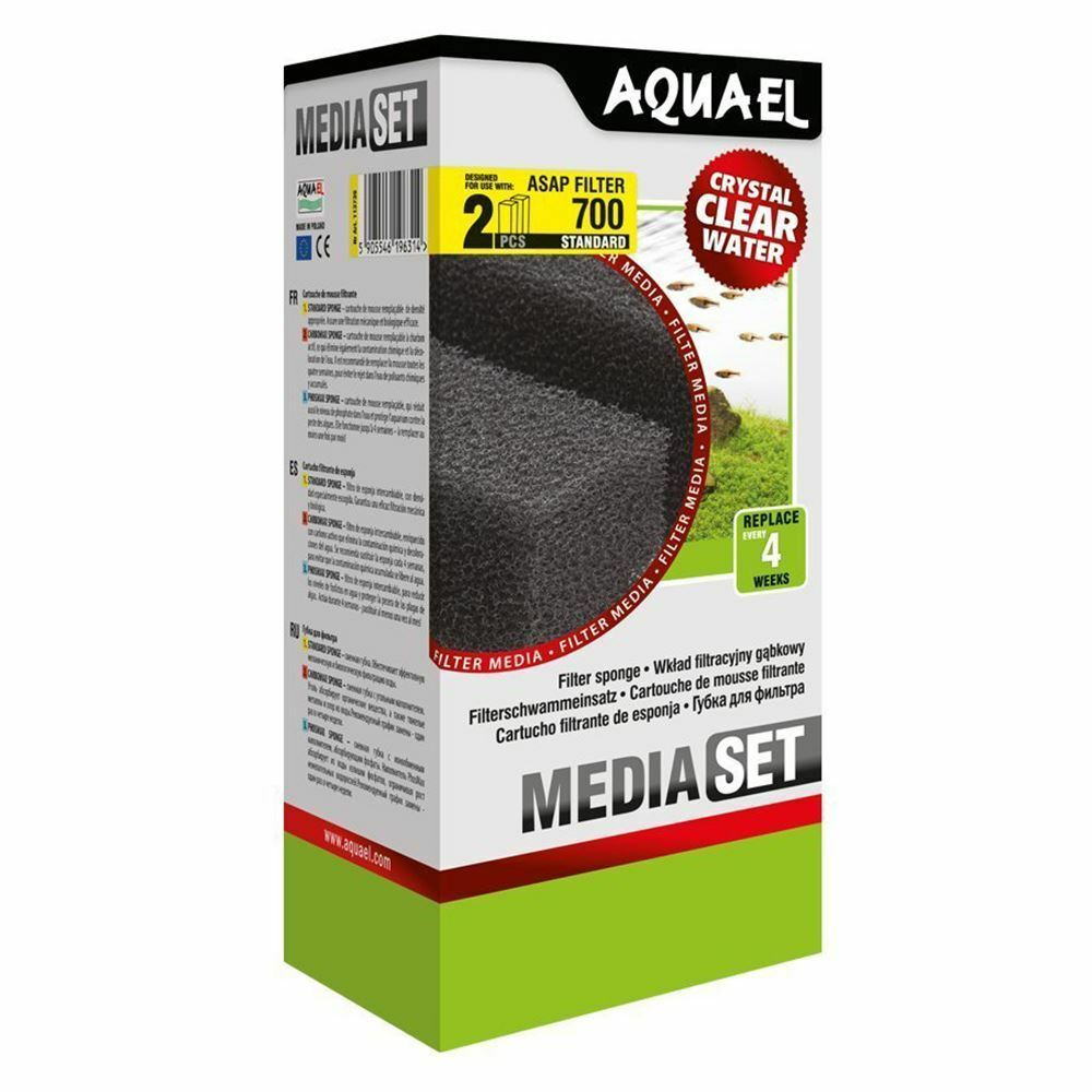 Aquael ASAP 700 Replacement Sponge Standard x2 Aquarium Media