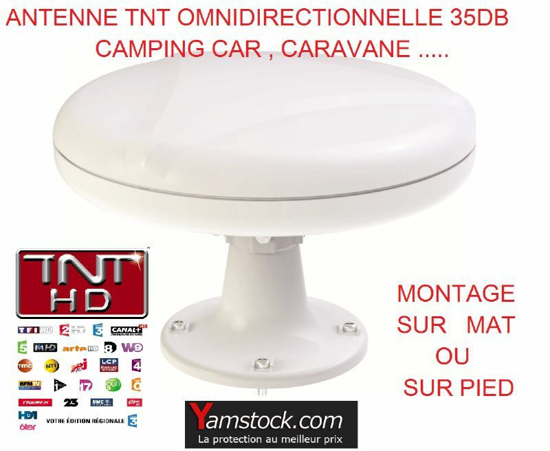 antenne tnt omnidirectionnelle 35db camping car caravane bateau eur 79 90 picclick it. Black Bedroom Furniture Sets. Home Design Ideas