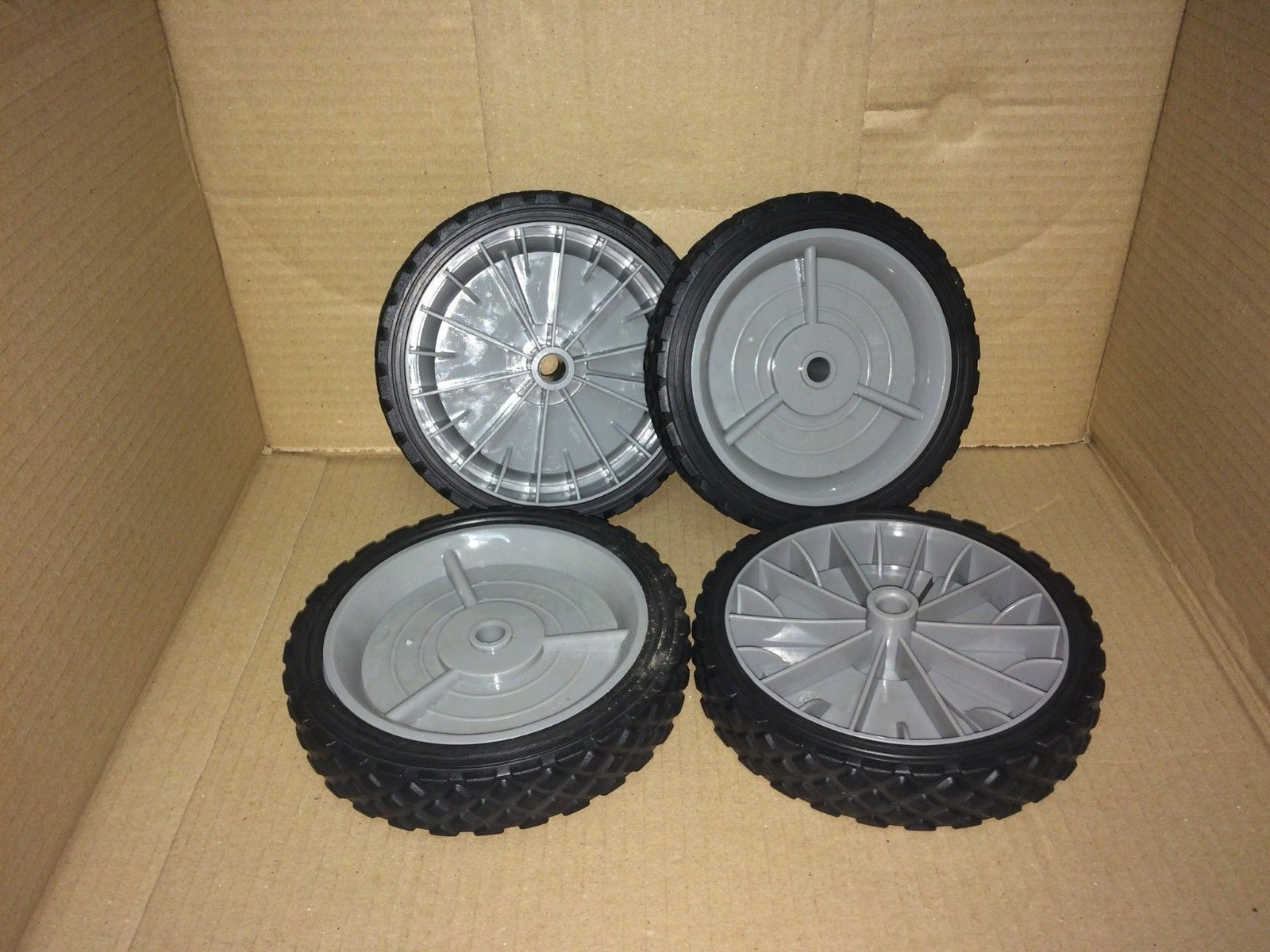 Craftsman Walk Behind Push Lawn Mower Wheels Set Of 4 Fits Most Any Wheel Belt Diagram And Parts List For Walkbehindlawnmower 1 1free Shipping