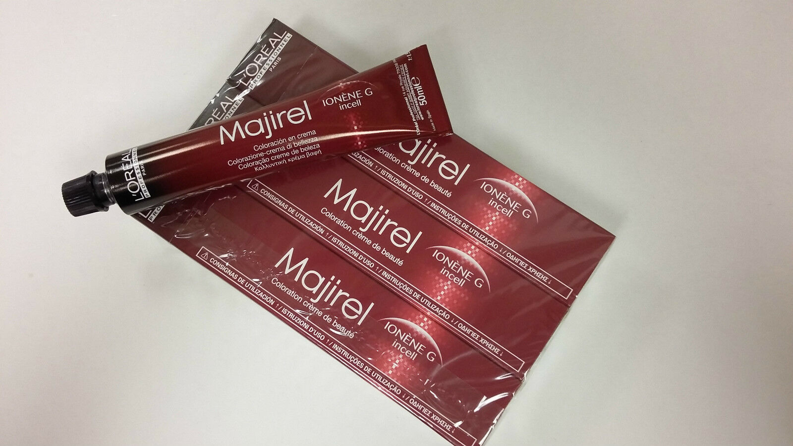 Loreal Professional Majirel And Majiblond 50ml Tube X 3 Free Majirouge Beauty Colouring Cream 1 Of 1free Shipping