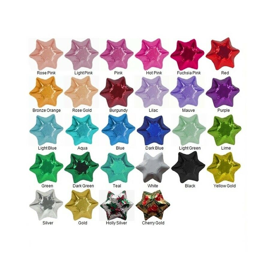 500 Cadbury Chocolate Stars Assorted Colours-Christmas Kids Parties Promotions