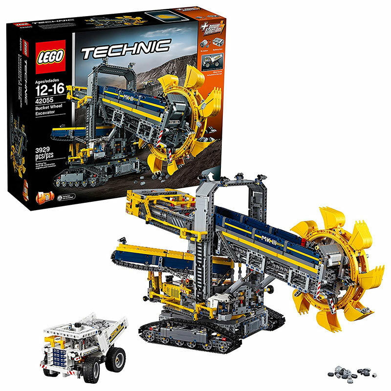 lego technic bucket wheel excavator 42055 eur 179 10. Black Bedroom Furniture Sets. Home Design Ideas