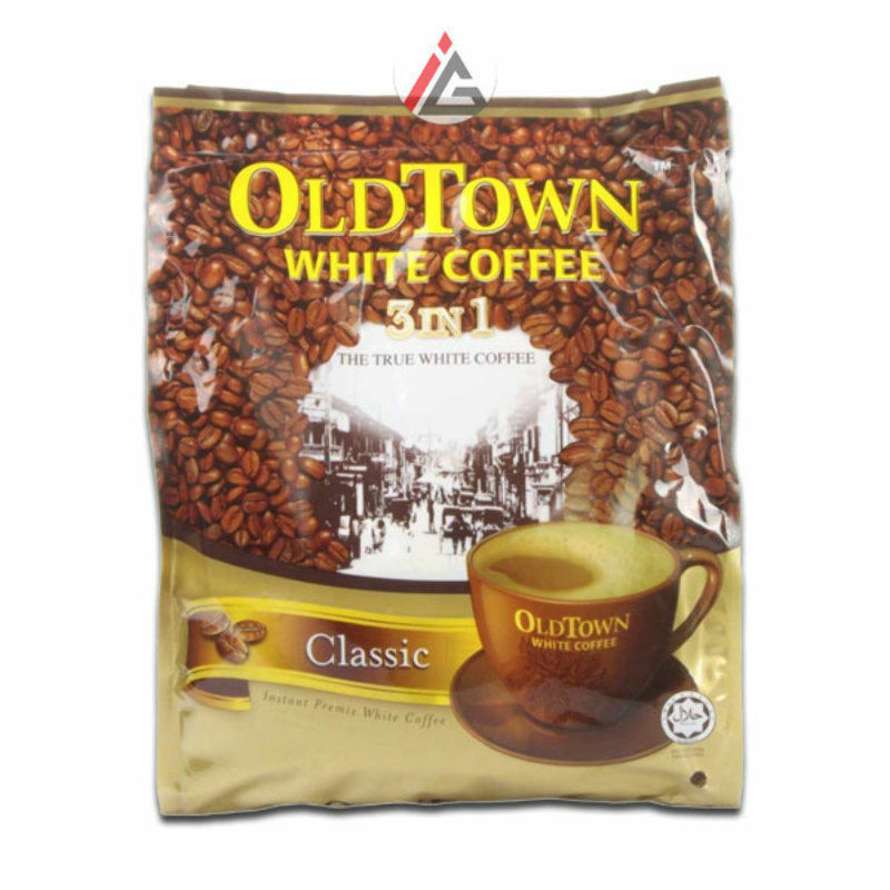 Old Town - White Coffee 3 in 1 (Classic Flavour) 40g x 15 Sachets - 600 gm