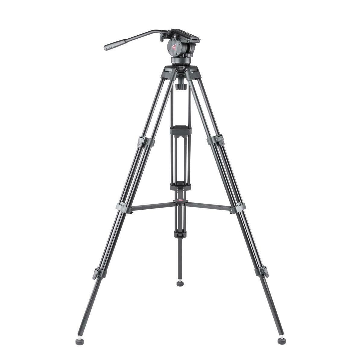 3pod V3ah Aluminum Tripod With Qr 2 Way Pan Head Black 3p Weifeng Portable Stand 4 Section Aluminium Legs Brace 1 Of 12only 0 Available