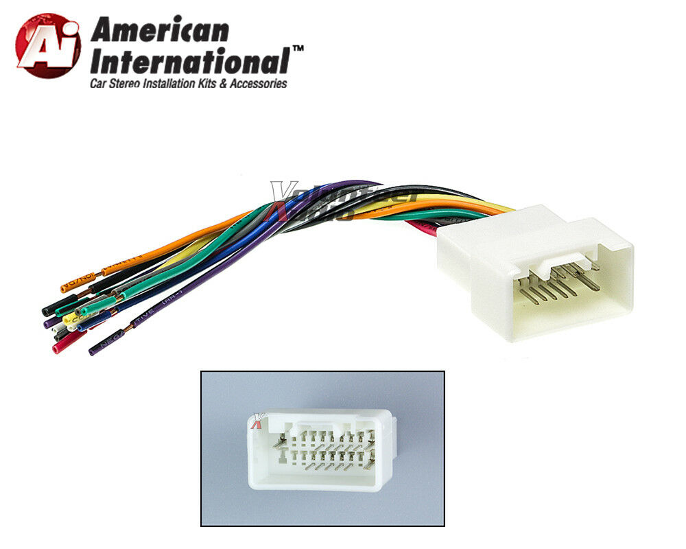Mitsubishi Car Stereo Cd Player Wiring Harness Wire Aftermarket Radio Install 1 Of 1free Shipping