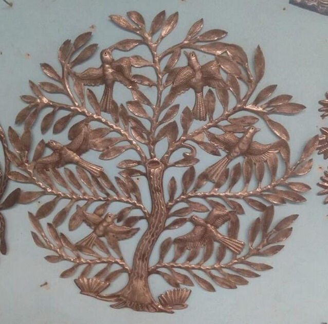 TREE OF LIFE Metal Tree Wall Art Handmade Wall Hangings Country Home ...
