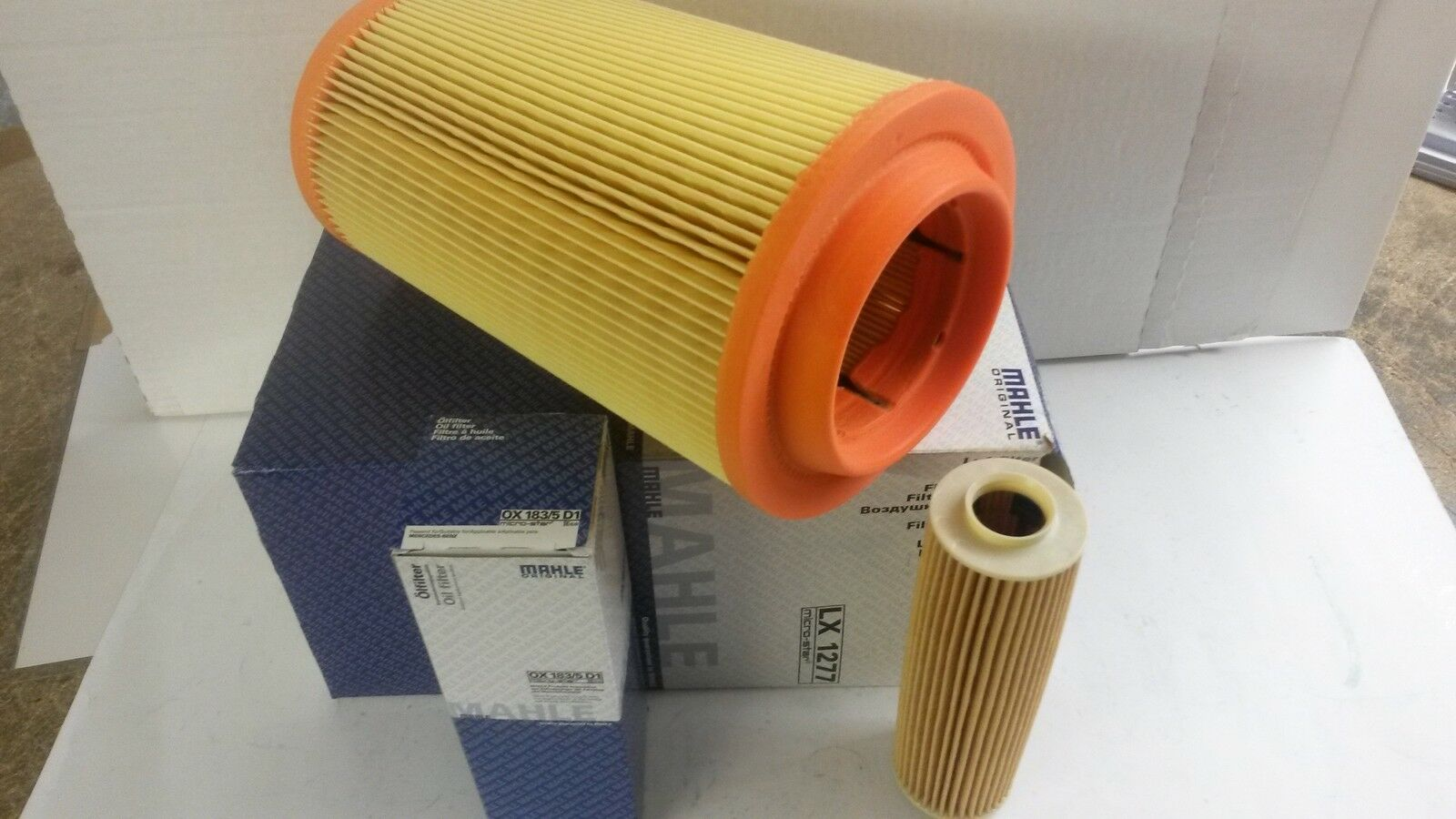 Mercedes C180 C200 C230 Kompressor Mahle Oil Air Filter Service Kit Fuel 1 Of 1only Available