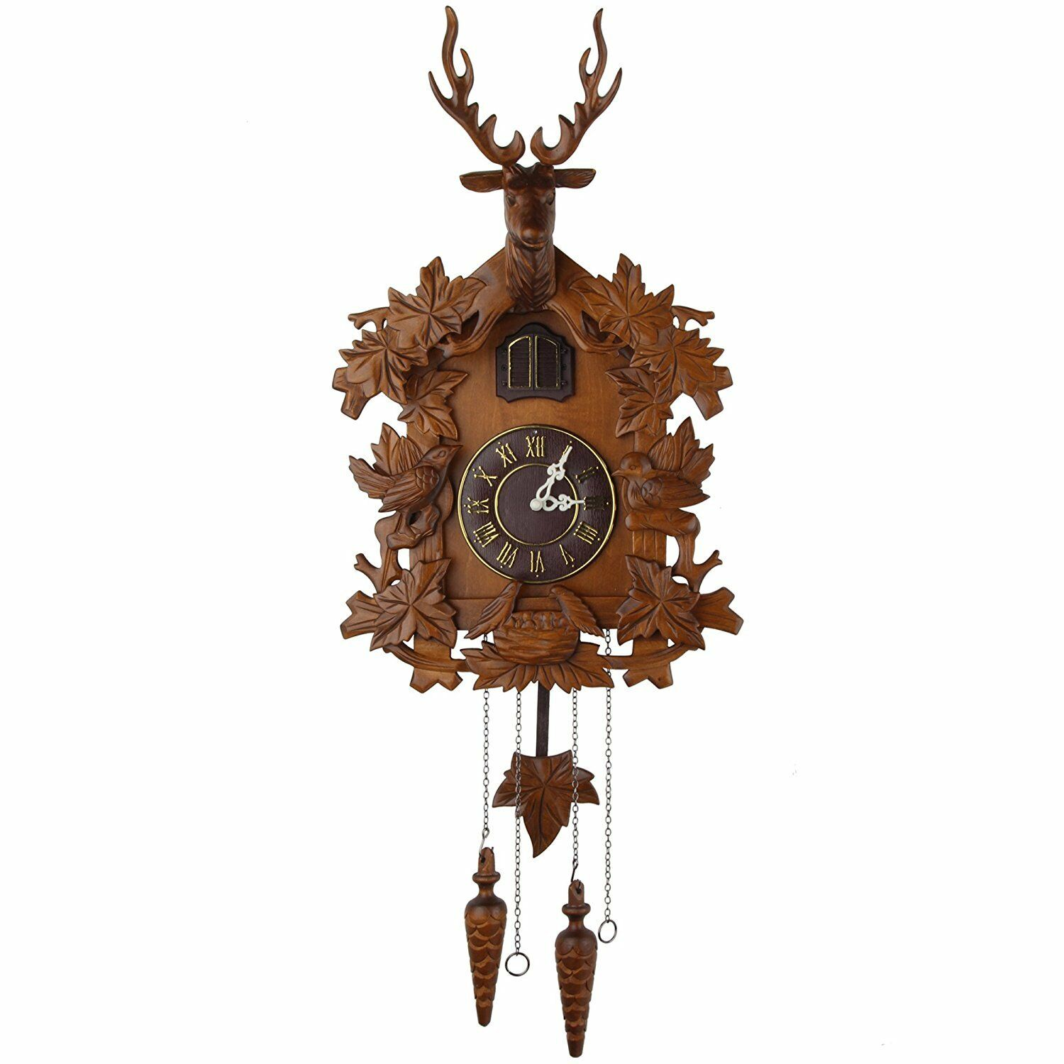 Kendal handcrafted wood cuckoo clock mx015 2 How to make a cuckoo clock