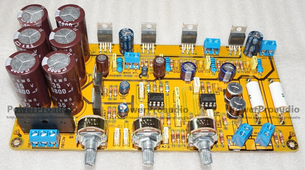 Lm1875 21 Hifi Power Amplifier Finished Kit Board 6799 Picclick Audio Frequency 20w Based 1 Of 3only 5 Available