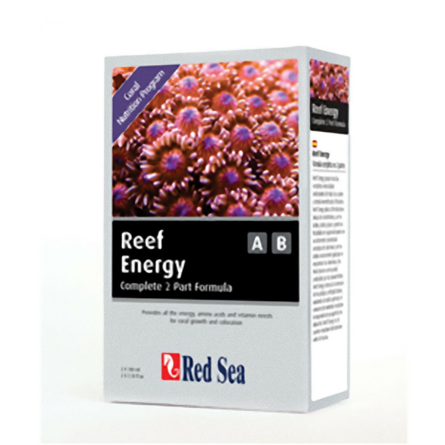 Red Sea Reef Energy A+B 00ml Coral Nutrional Supplement Reef Aquarium Additive