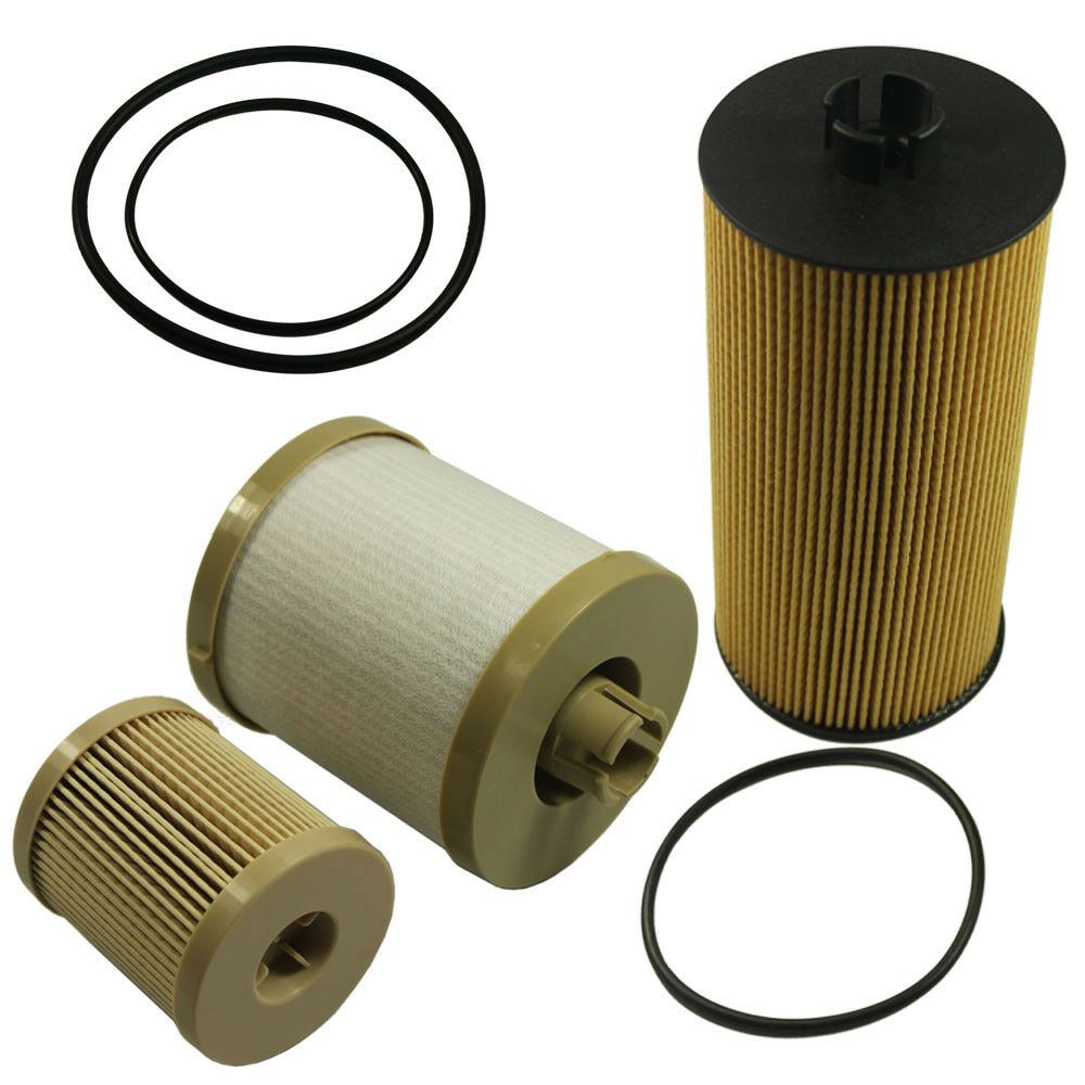 Diesel Oil Filter Fuel Fl2016 Fd4604 For Ford Powerstroke 60 6 0 Updated 60l 2003 2007 1 Of 10free Shipping See More