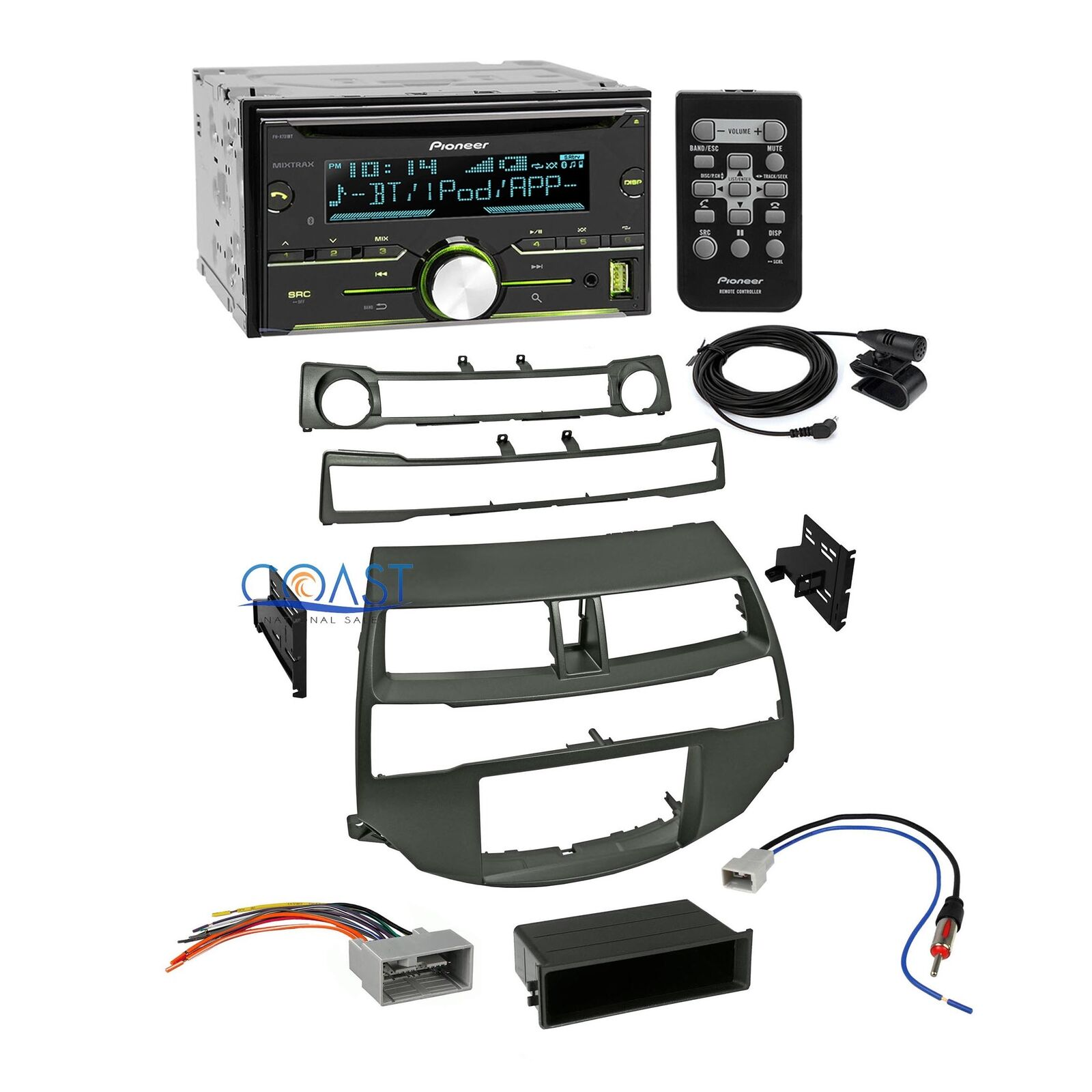 Pioneer Car Radio Stereo Dash Kit Wire Harness Antenna For 08 12 How To A 1 Of 5free Shipping