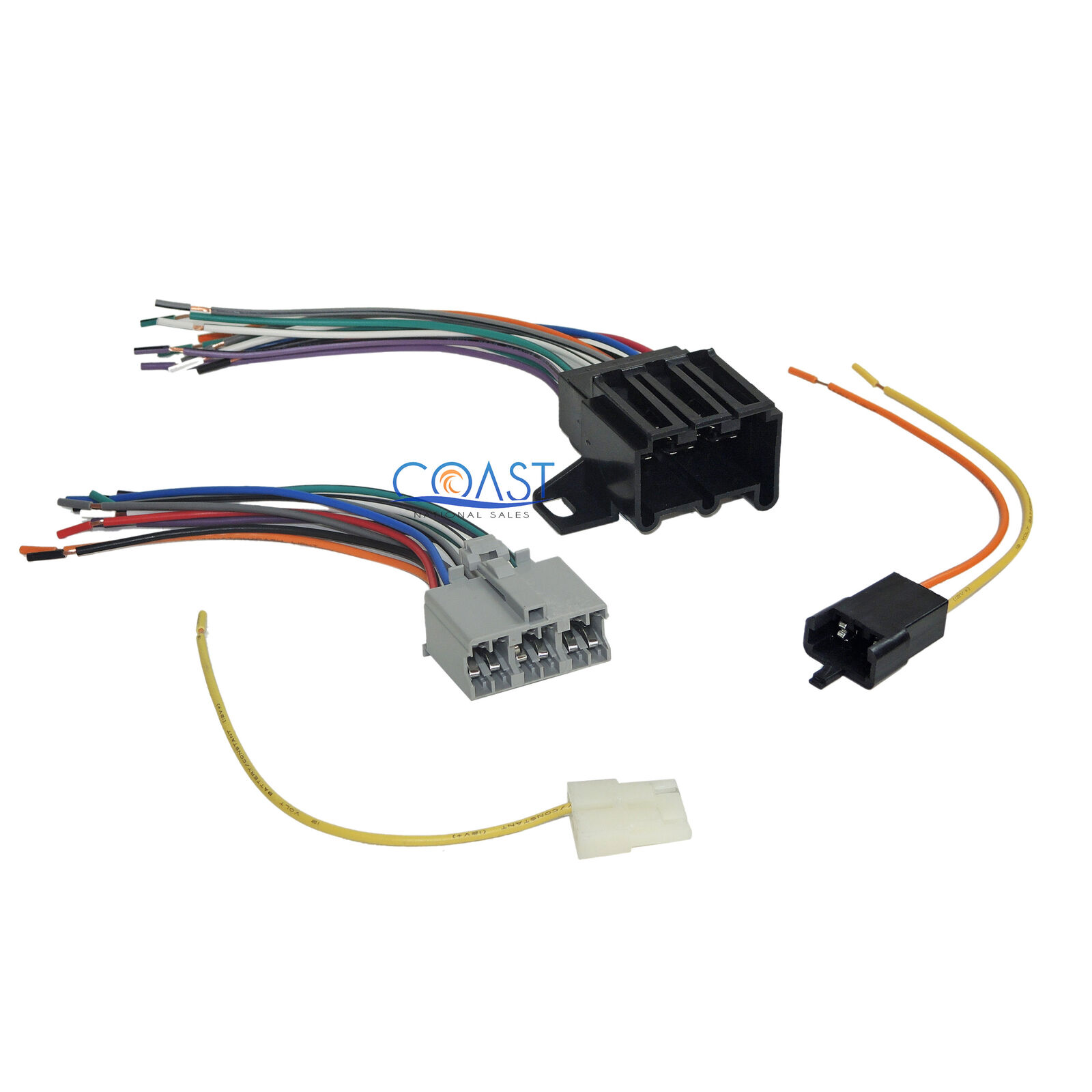 car radio stereo install wire wiring harness combo for 1975 up gm 71 rh picclick com