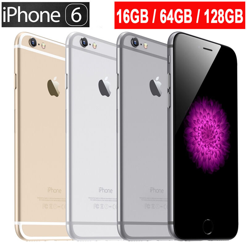 apple iphone 6 16gb 64gb 128gb space grey silver gold. Black Bedroom Furniture Sets. Home Design Ideas