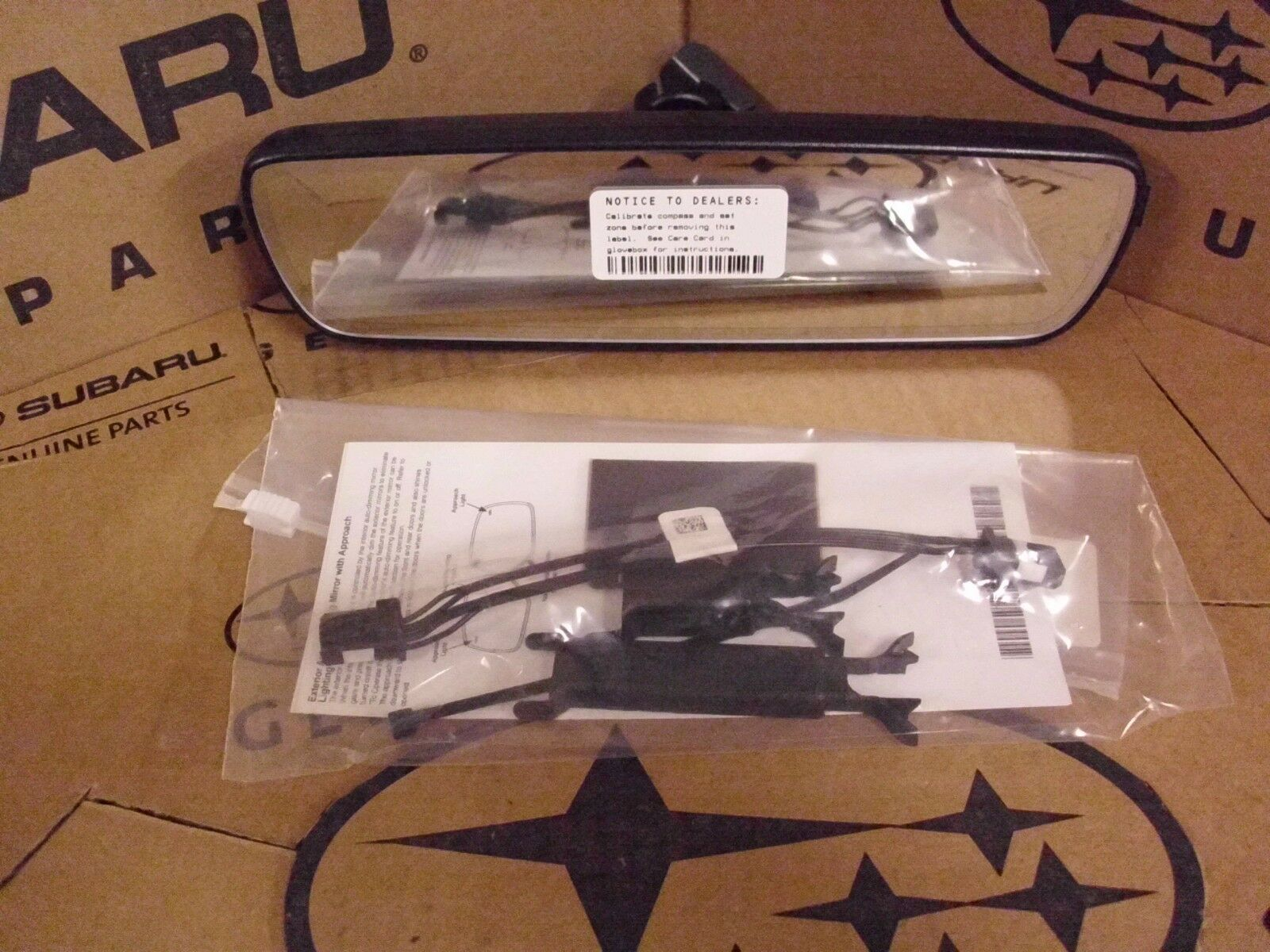 Genuine Oem Subaru Forester Auto Dim Mirror With Compass W Eyesight Dimming Wiring Diagram H501ssg201 1 Of 3only 5 Available