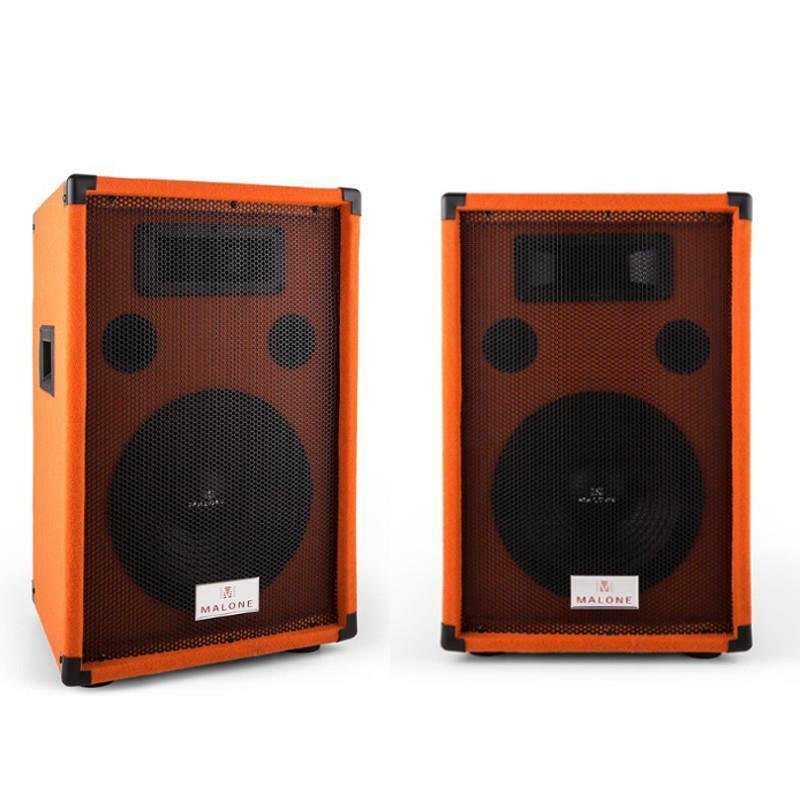 paar dj pa lautsprecher 10 subwoofer 150w rms party disco. Black Bedroom Furniture Sets. Home Design Ideas
