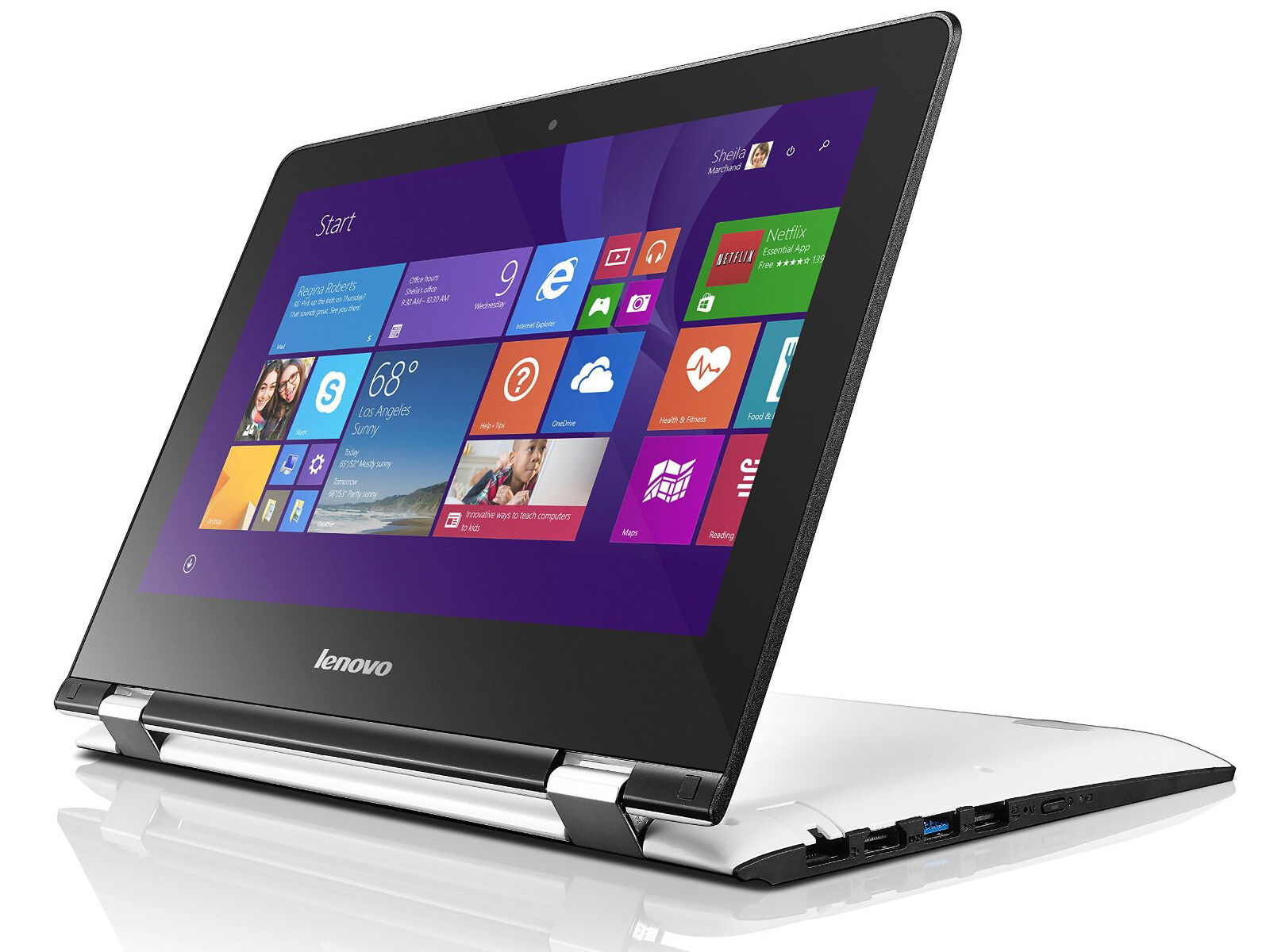 lenovo yoga 300 11 6 touch screen 2 in 1 tablet laptop. Black Bedroom Furniture Sets. Home Design Ideas