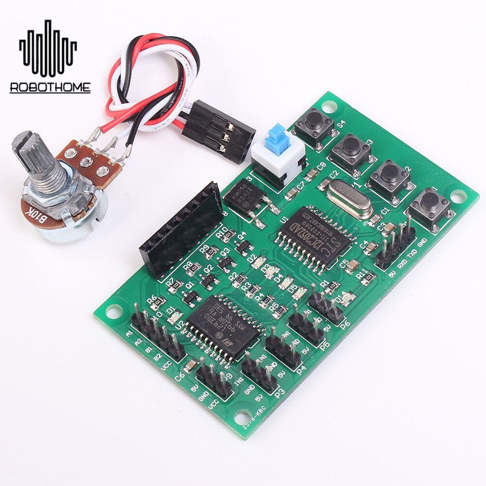 Programmable 2 4 Phase Stepping Motor Driving Control Board Module Stable 6 24v Cad