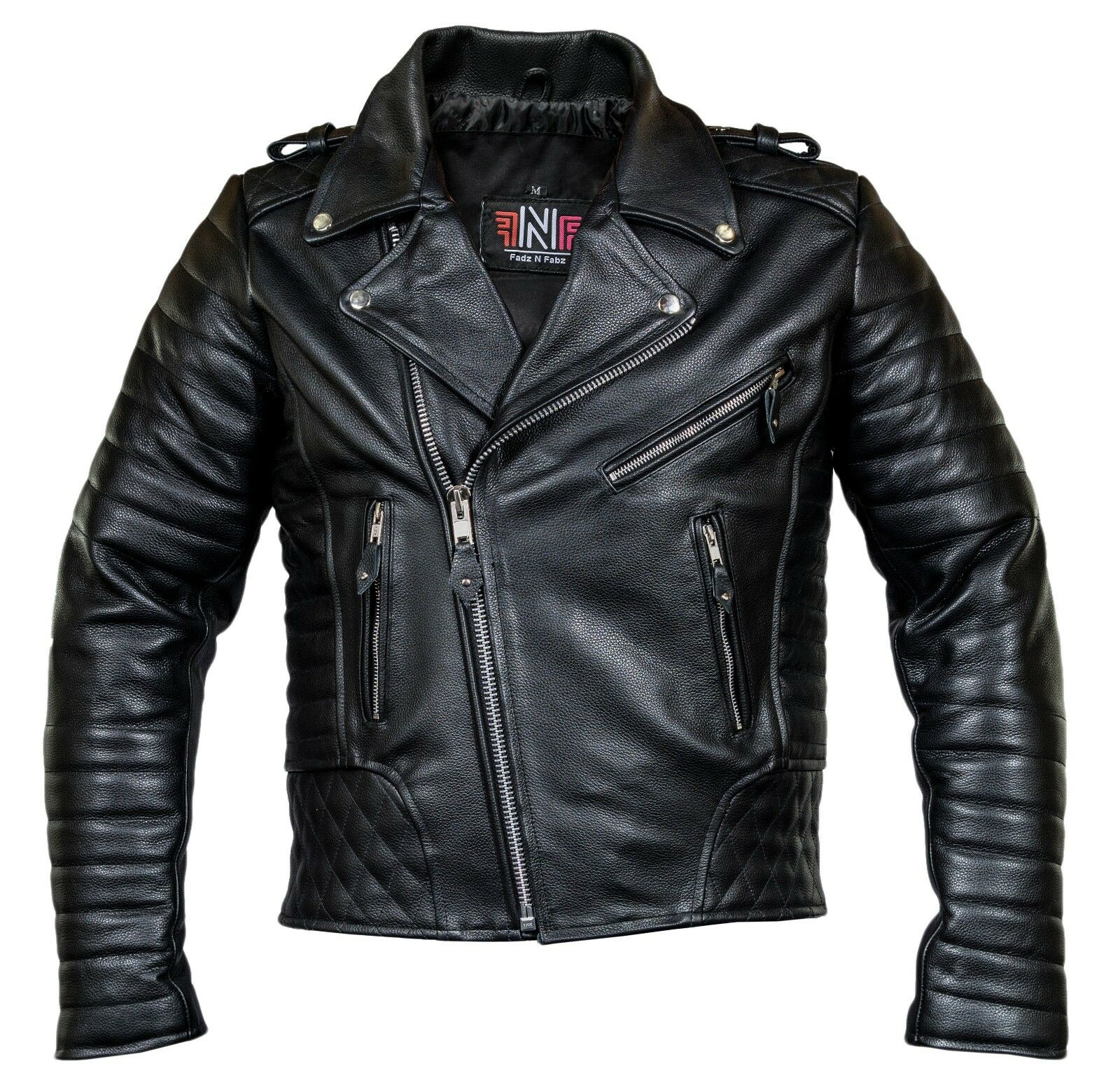 herren motorrad lederjacke biker jacke motorradjacke mit. Black Bedroom Furniture Sets. Home Design Ideas