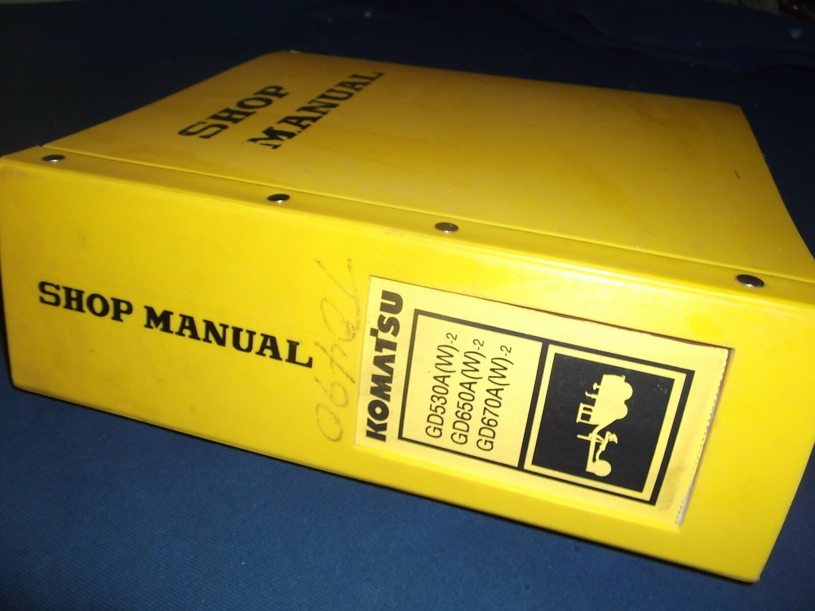 Komatsu Gd530A Gd650A Gd670A (W)-2 Motor Grader Service Shop Repair Book  Manual 1 of 4Only 1 available See More