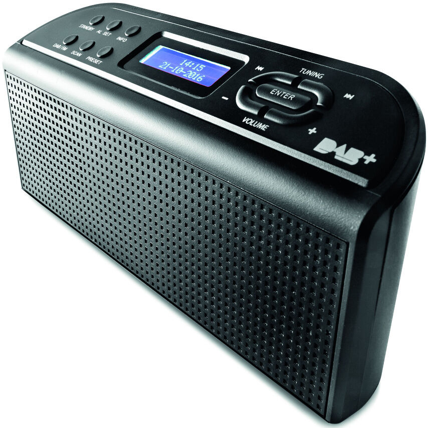digital radios portable dab pocket alarm clock radios. Black Bedroom Furniture Sets. Home Design Ideas