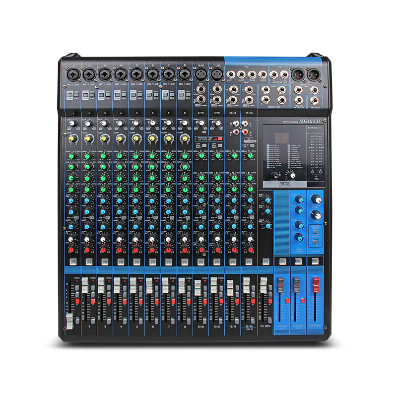 Yamaha mixer professional audio console mg16xu 16 channel for Yamaha pro audio