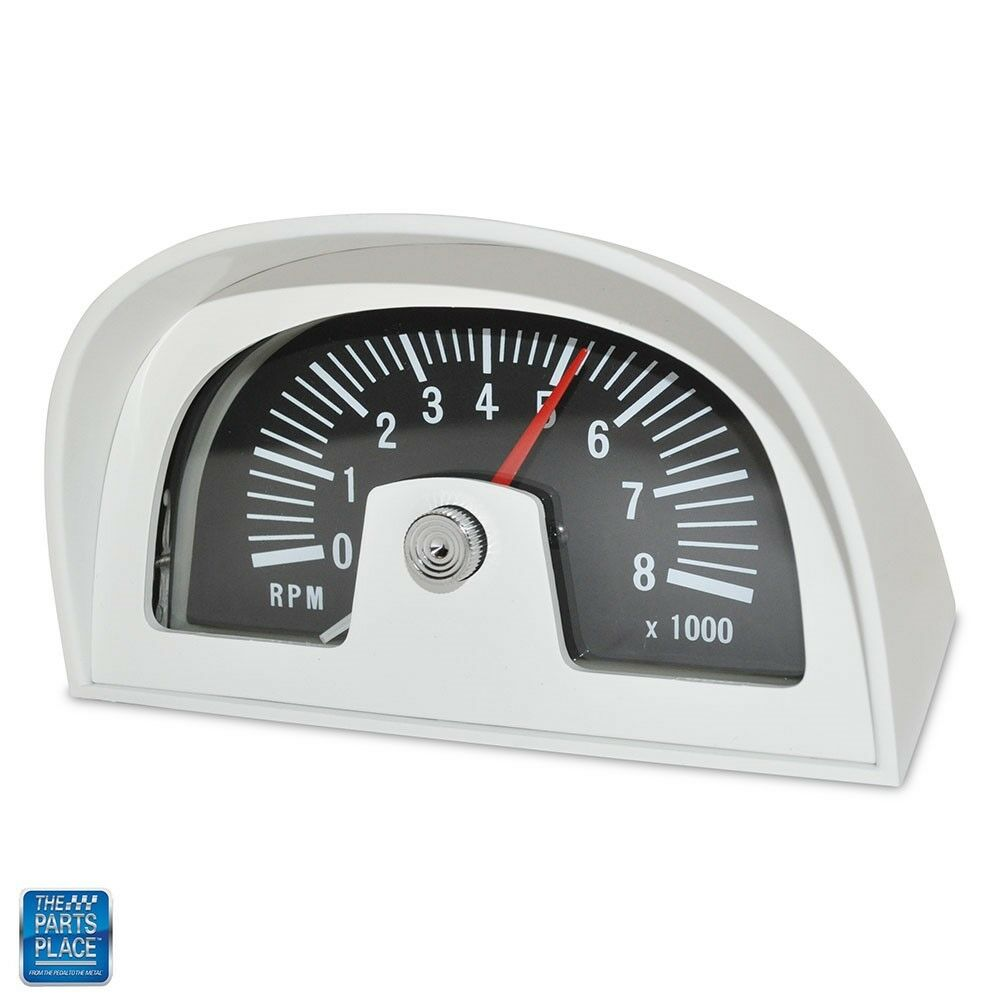 1960s 70s Hood Tach Tachometer Dixco Style 8000 Rpm 8 Cylinder Only Pontiac Wiring Diagram 1 Of 4free Shipping