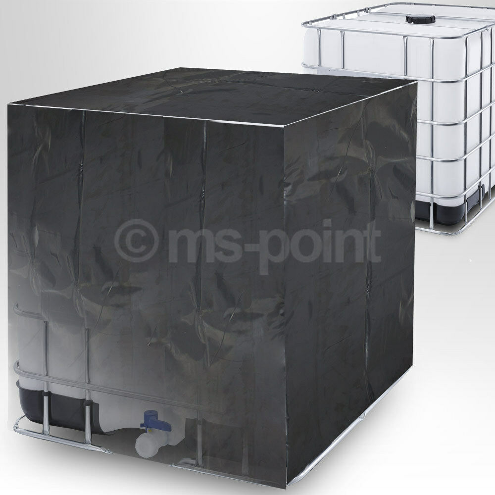ibc tank abdeckung regenwassertank container folie schutzplane haube 1000 liter eur 16 95. Black Bedroom Furniture Sets. Home Design Ideas