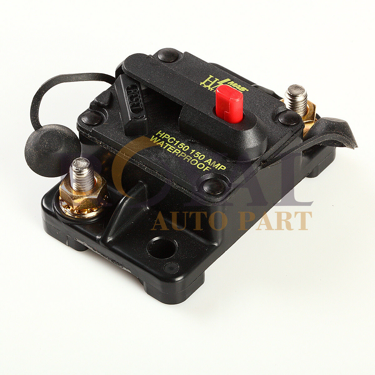 150 Amp Manual Reset Circuit Breaker 12v Car Auto Boat Audio Fuse Home Residential Zinsco Type R38 1 Of 3only 4 Available