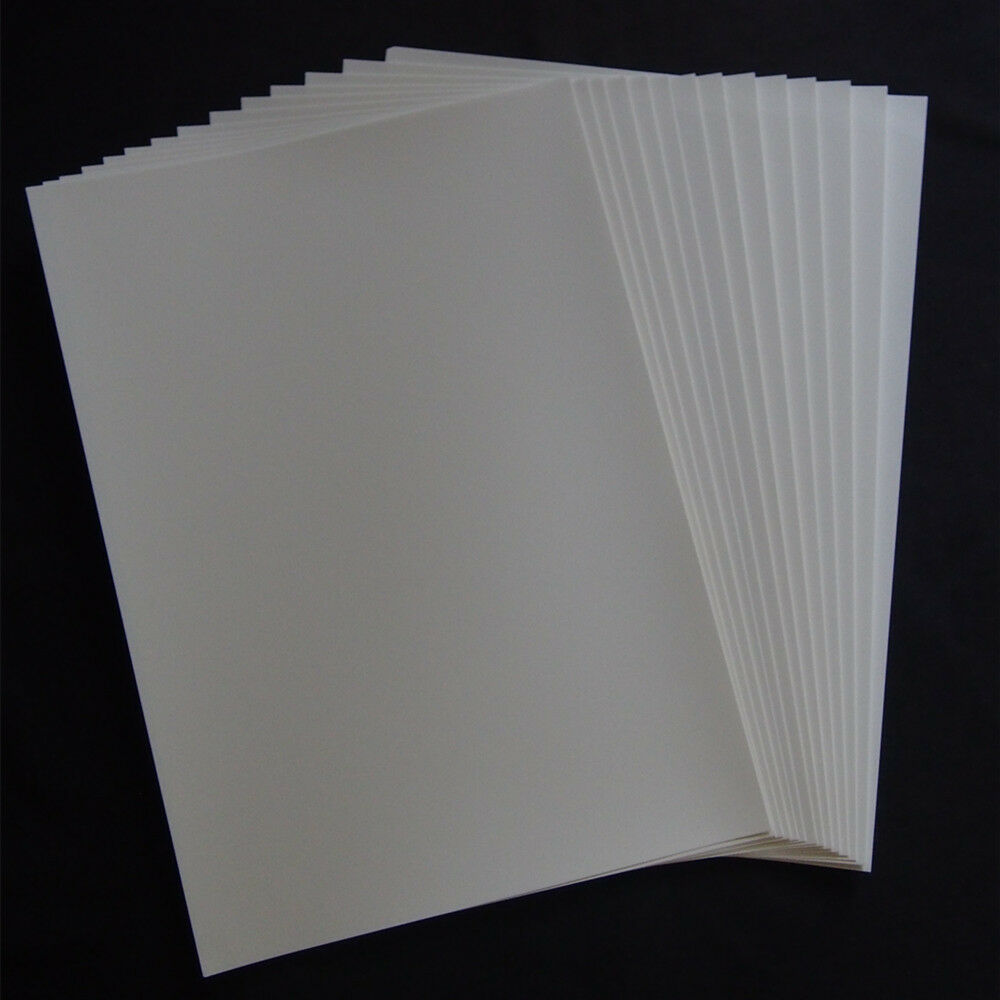 A4 Clear Waterslide Decal Paper - Inkjet X 100 Pieces
