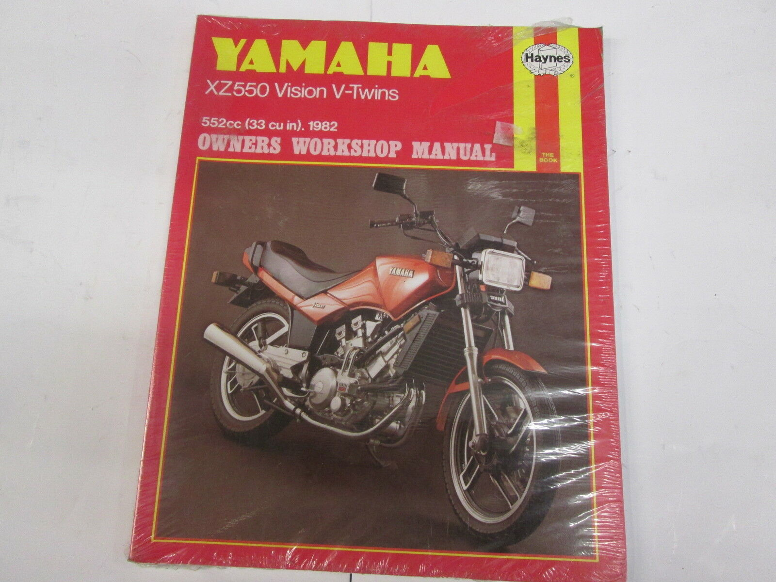 Yamaha Xz550 Vision V-Twins Haynes Workshop Manual 1 of 1Only 1 available  ...