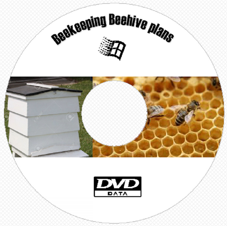 20 Bee Hive construction plans and projects  Beekeeping Beehive dvd rom