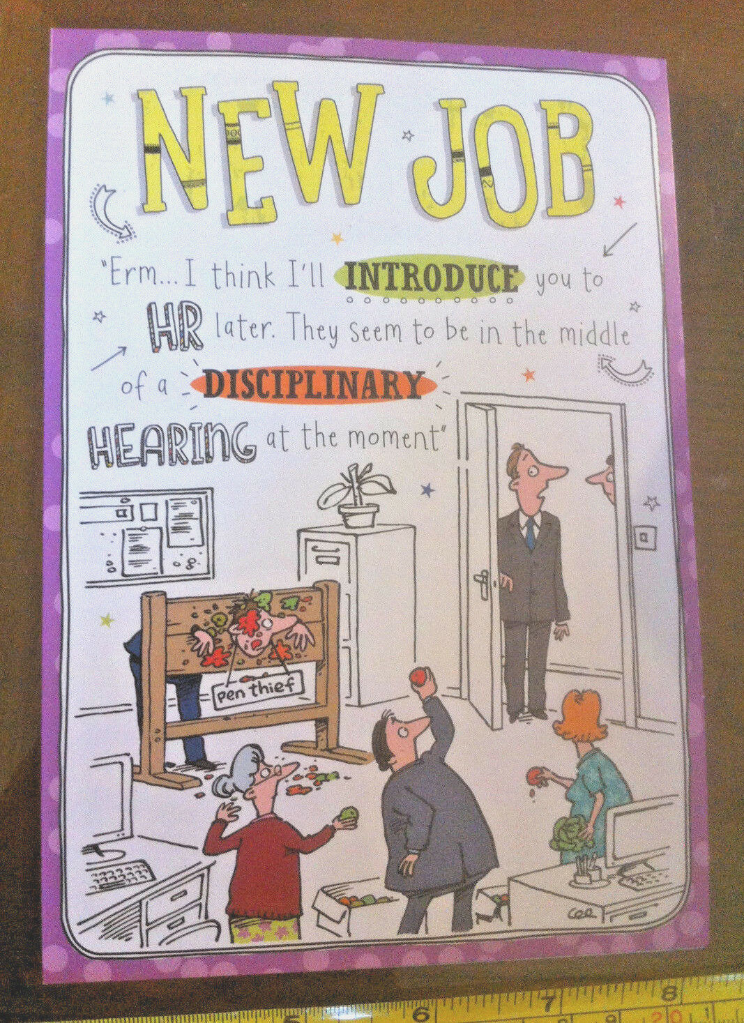new job congratulations on your new position day card new 1 of 2 see more