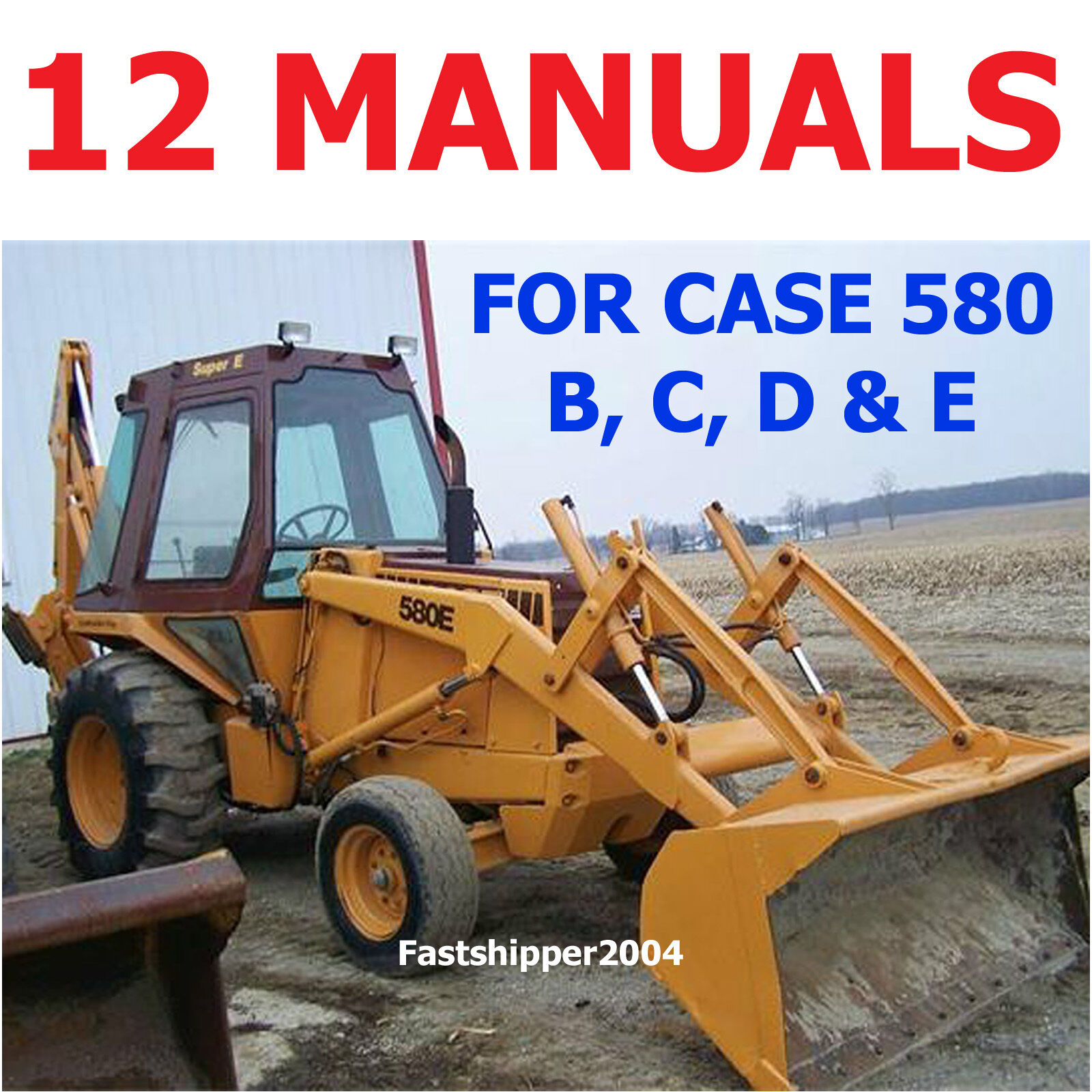 case 580b ck loader backhoe loader tractor service repair manual rh nicesearchengineofmine com