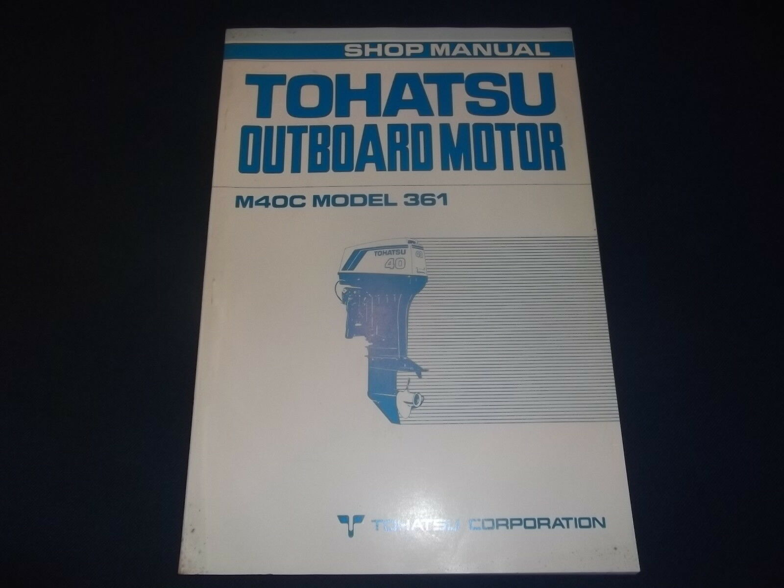 Tohatsu Nissan M40C 361 Outboard Motor Engine Service Shop Repair Manual  Book 1 of 3FREE Shipping See More