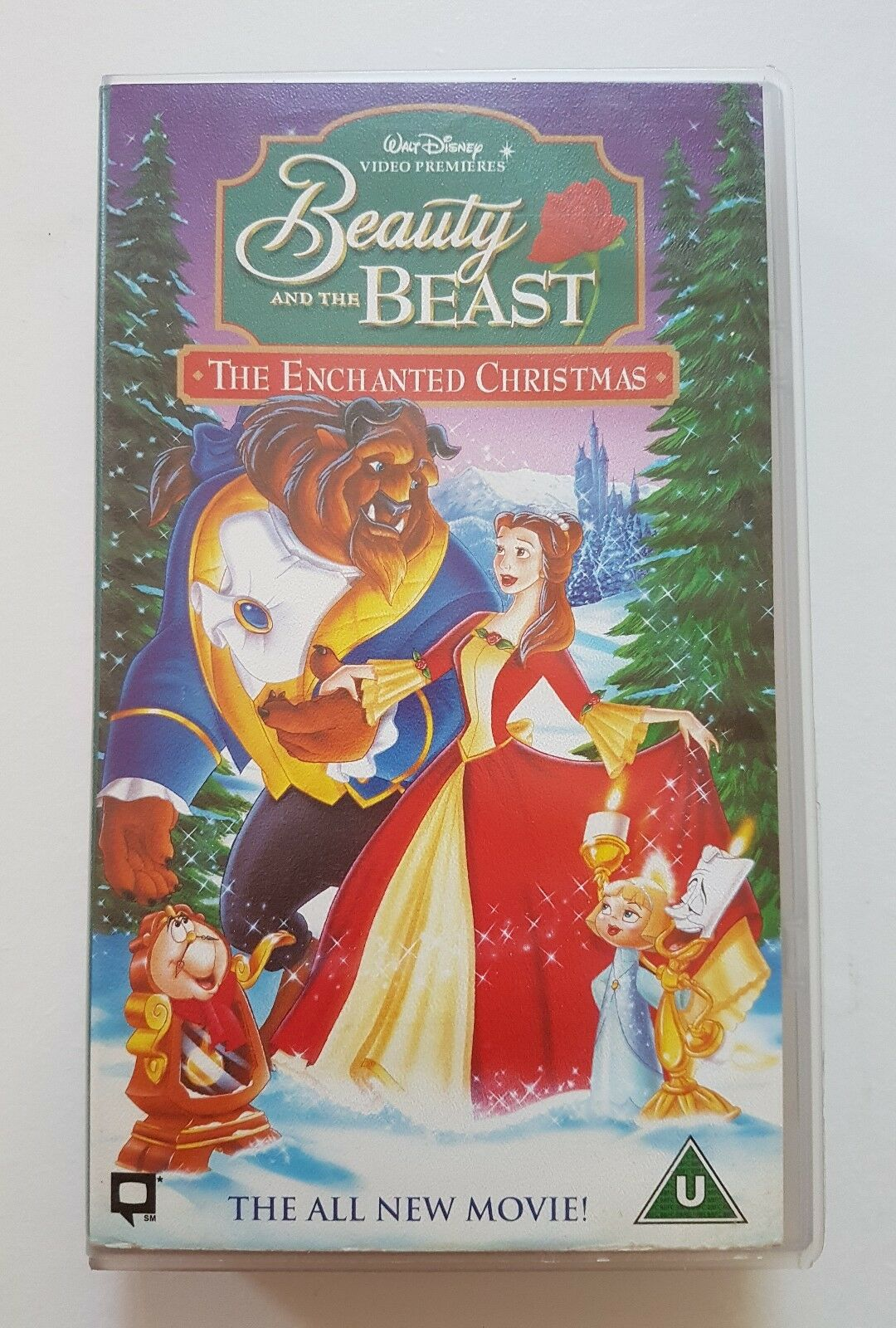 beauty and the beast the enchanted christmas original