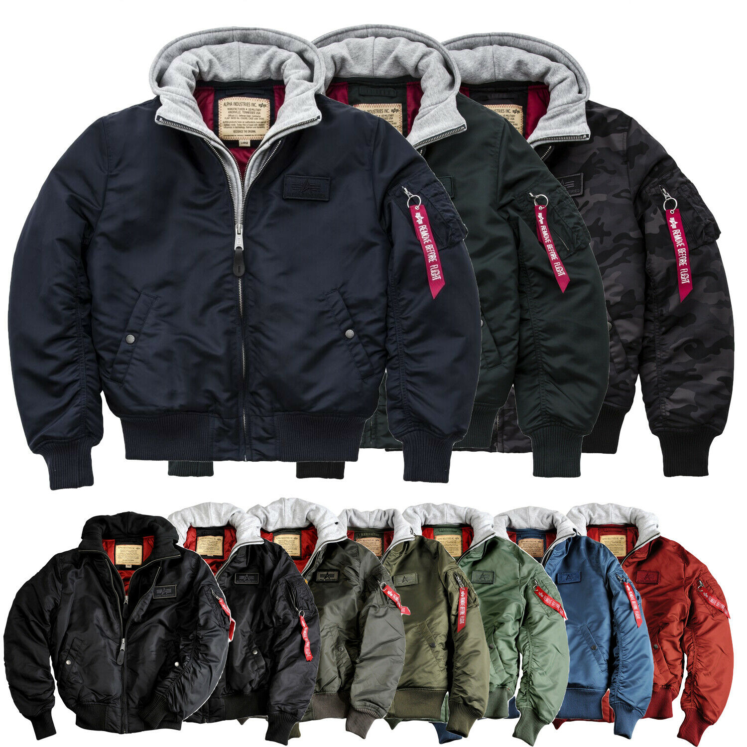 alpha industries herren winterjacke jacke ma 1 d tec. Black Bedroom Furniture Sets. Home Design Ideas
