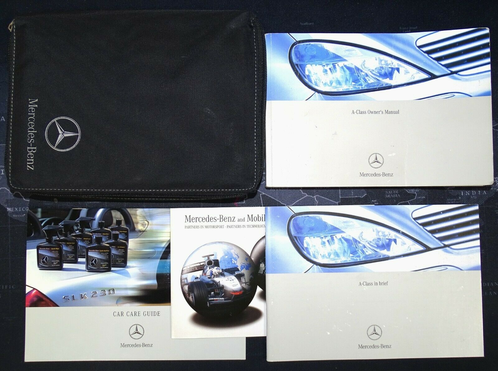 Mercedes A Class W168 Owners Manual Handbook Wallet 2001-2004 Pack 3776 1  of 1Only 1 available ...
