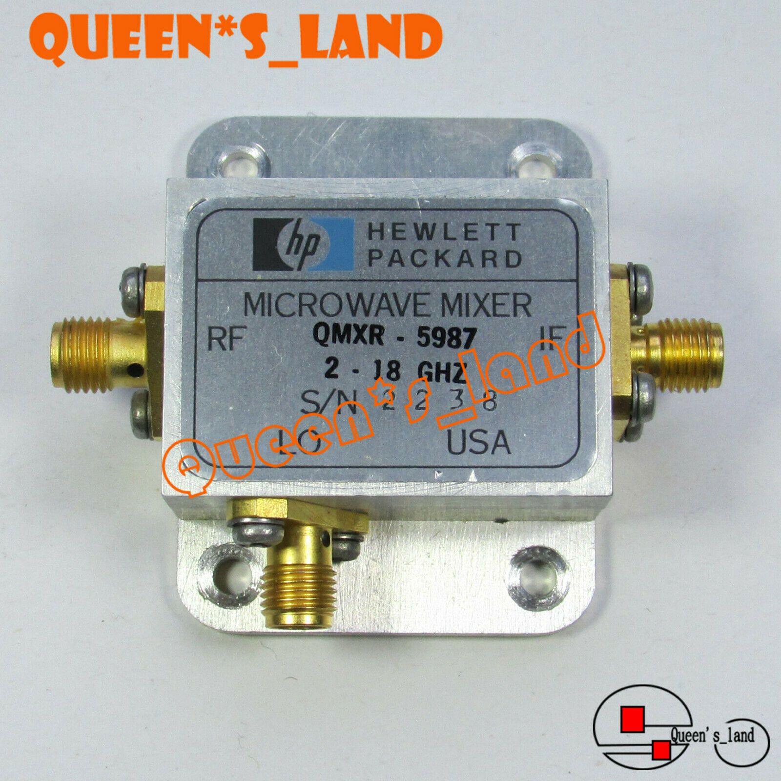 1used Hp Qmxr 5987 2 18ghz Sma Microwave Mixer 15500 Picclick Equipment Tools 2pcs Copper Gwinstek Lcr Kelvin Test Clip Bridge 1 Of 1only Available