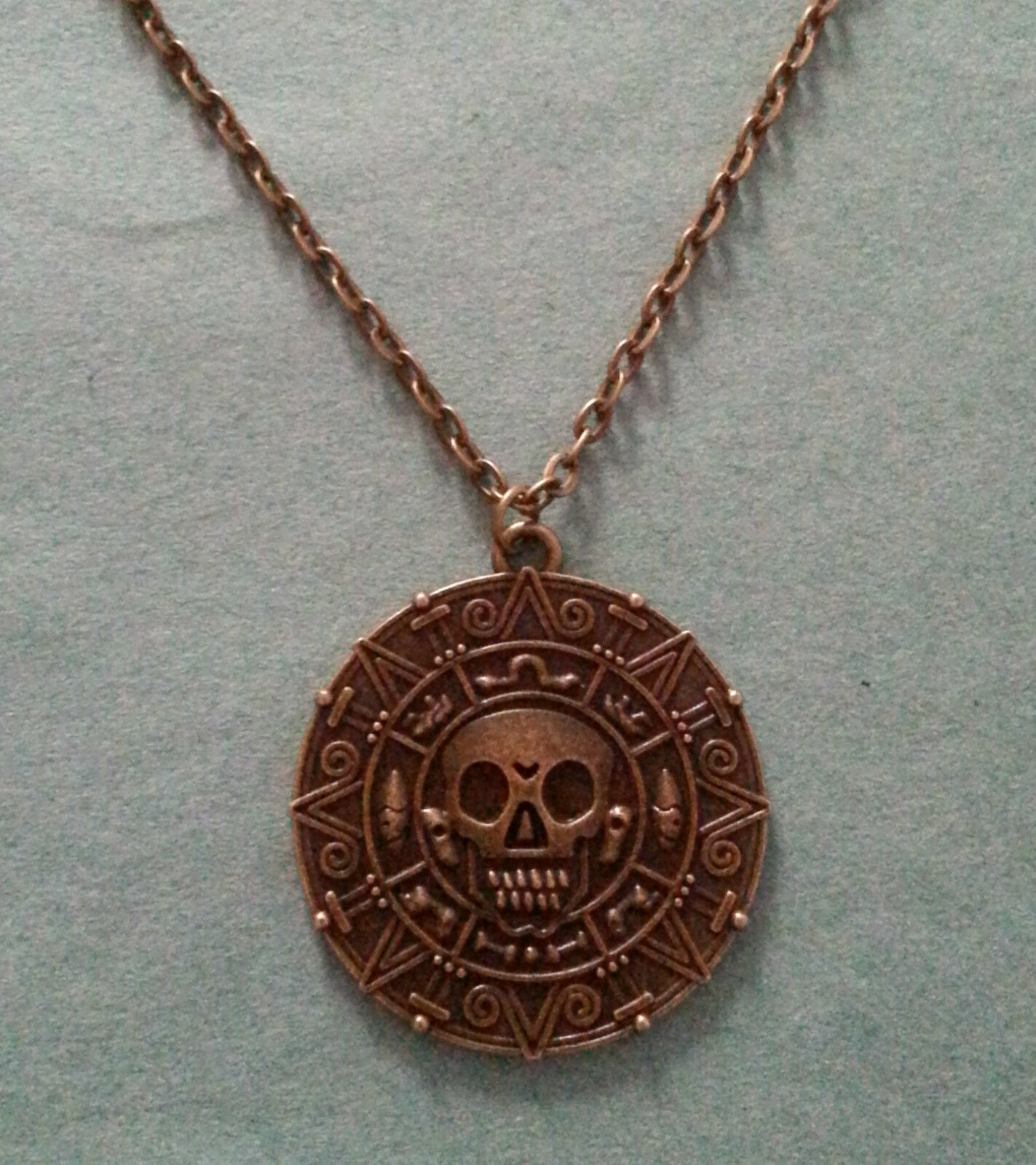 Pirates Of The Caribbean Aztec Coin Skull Medallion. Wood Wedding Rings. Pure Gold Pendant. Gold Filled Bracelet. Mother's Day Ankle Bracelet. Tassel Earrings. Country Girl Wedding Rings. Celtic Jewelry. Sea Necklace