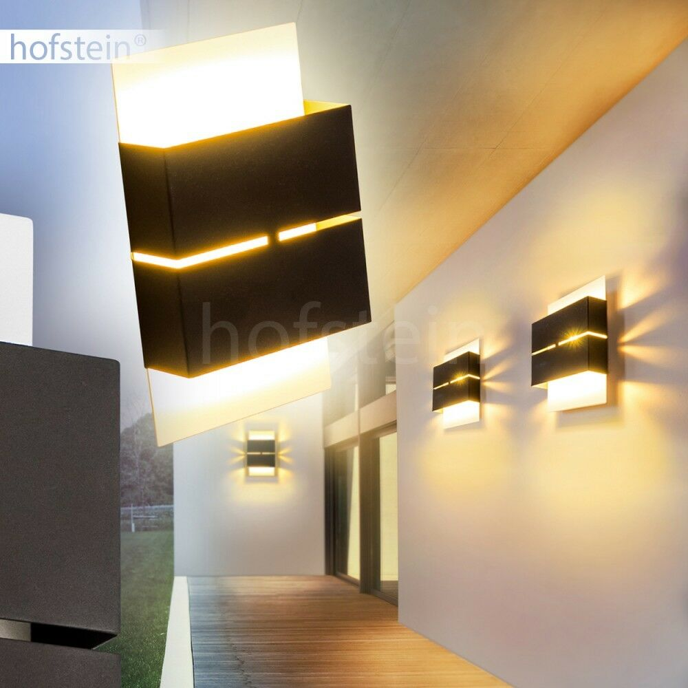 veranda terrasse hof beleuchtung led aussen wand leuchte. Black Bedroom Furniture Sets. Home Design Ideas