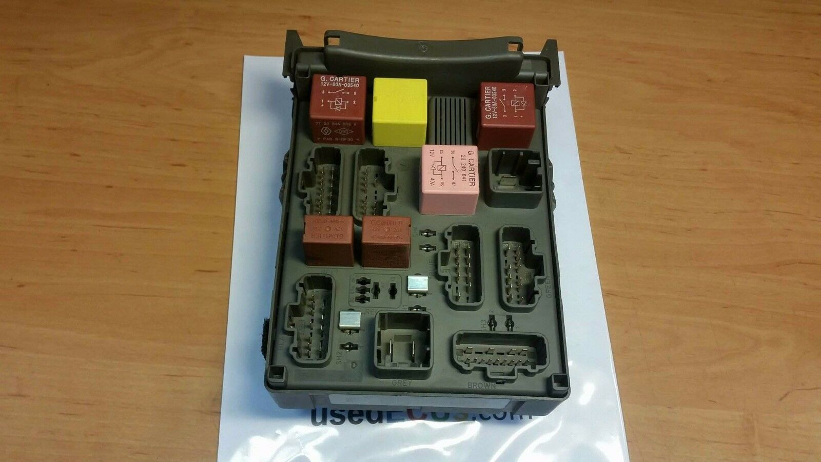 Renault Espace Laguna 01 - 08 Interior Fuse Relay Box 8200004201E,  518832019 1 of 2Only 1 available ...