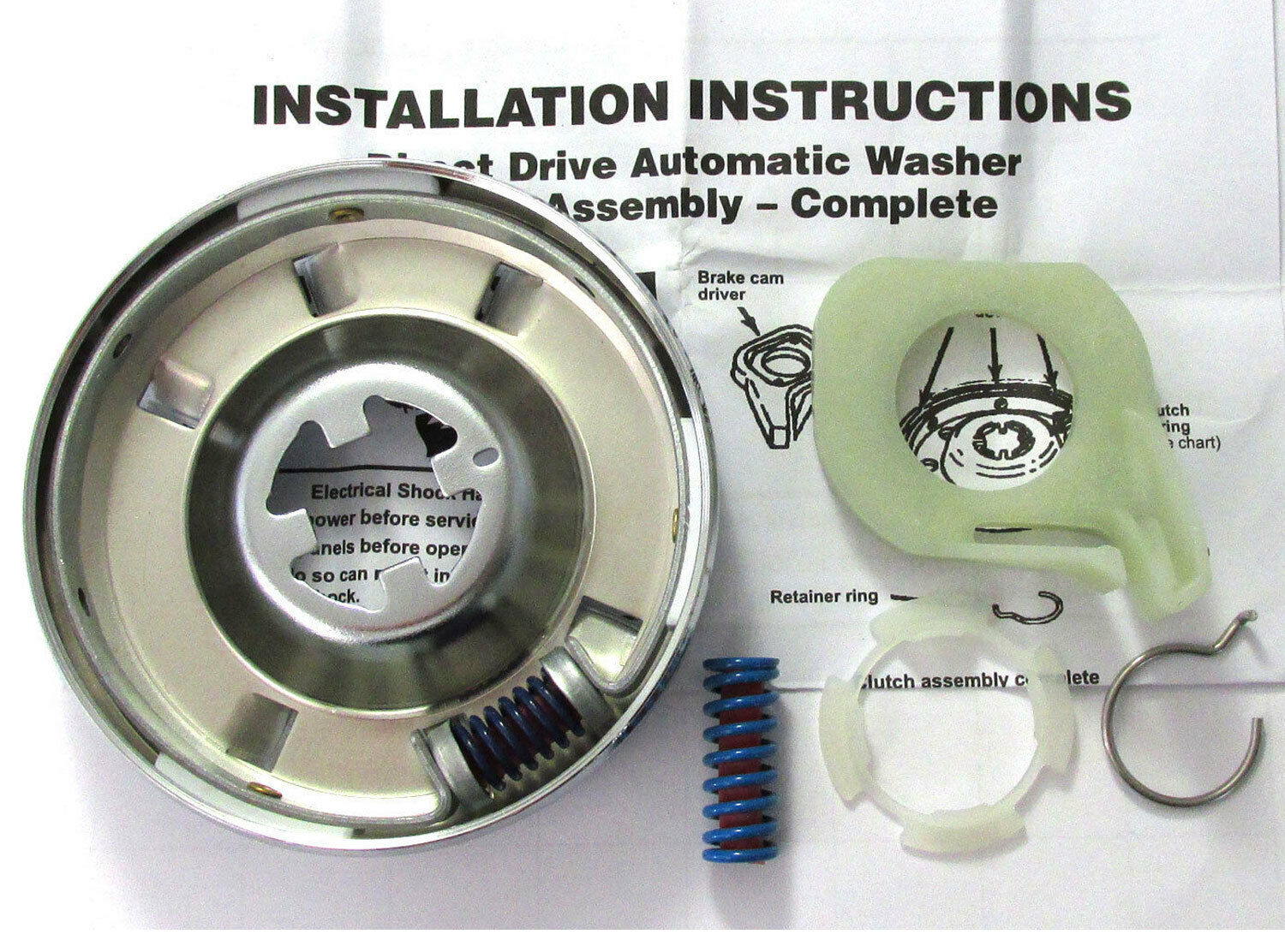 285785 Washer Clutch Whirlpool Kenmore New 1049 Picclick Electric Dryer Thermostat Further Washing Machine Motor Wiring 1 Of 1free Shipping See More