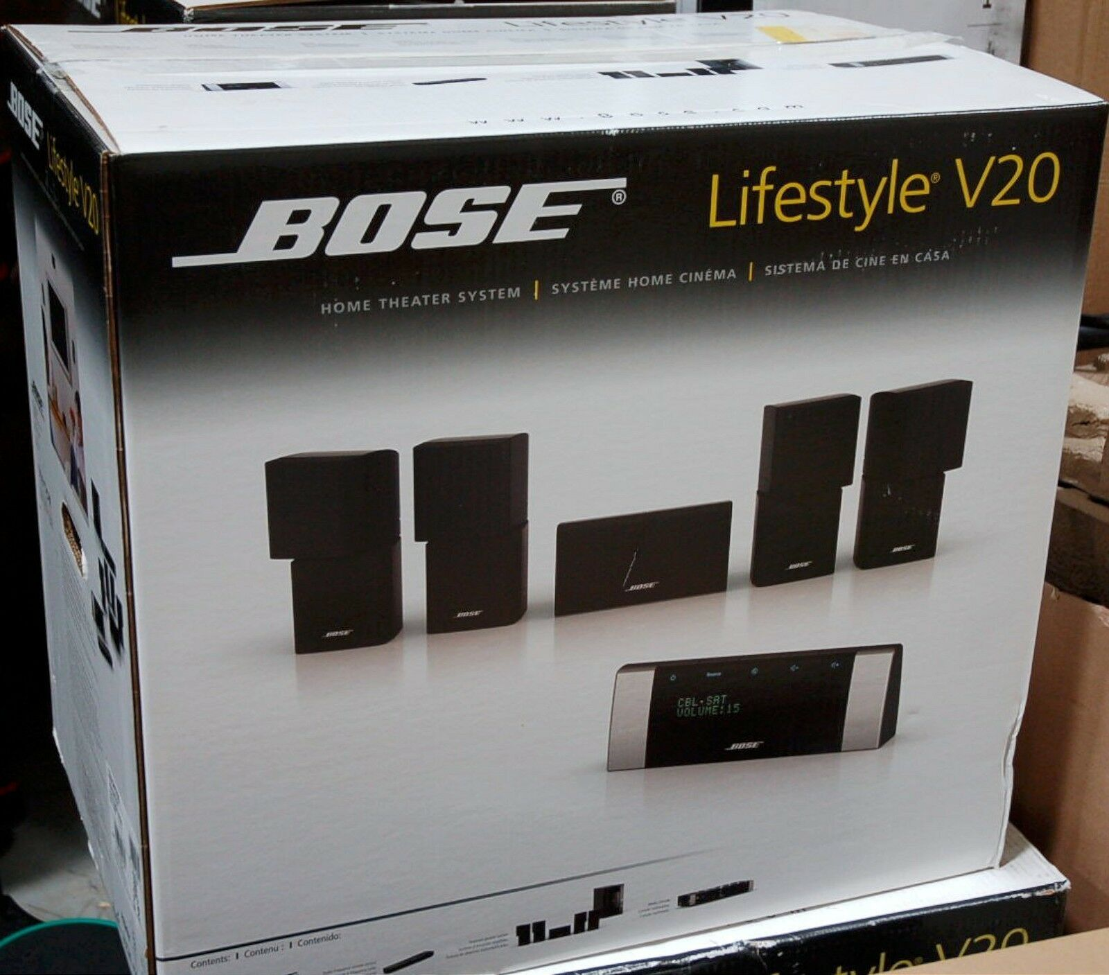 Bose Lifestyle V20 Hdmi Home Theater 51 Speaker System Set Surround 1 Sound 1080p Of 3only 3 Available See More