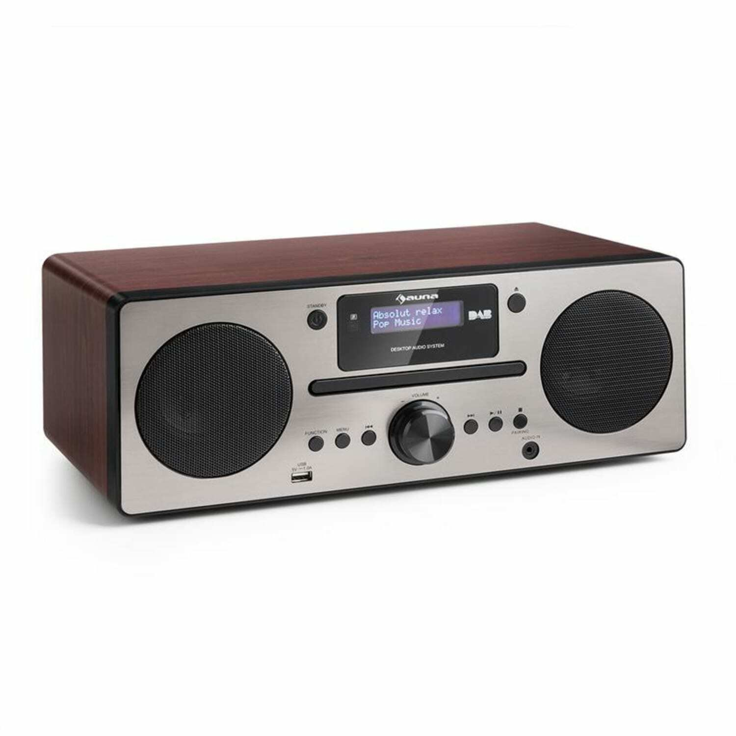 micro stereoanlage dab digitalradio usb cd player ukw. Black Bedroom Furniture Sets. Home Design Ideas