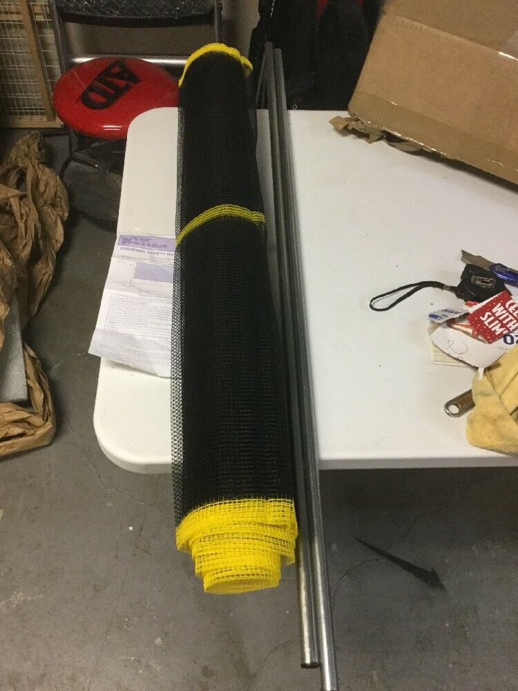 Exceptionnel Kidkusion Non Retractable Driveway Safety Net Black Yellow 18u0027 1 Of 1Only 1  Available ...