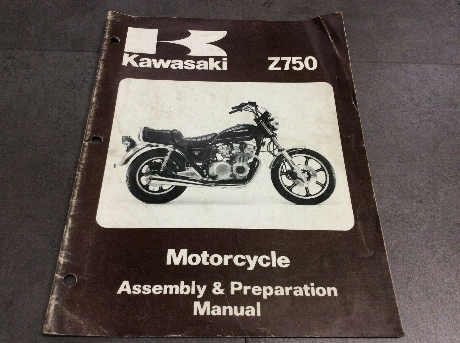Genuine Kawasaki Z750-H1 Assembly & Preparation Manual 99939-1041-01 1 of  3Only 1 available ...