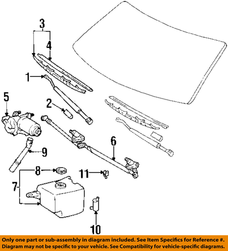 TOYOTA OEM 97-98 T100 Wiper Washer-Windshield-Tank Reservoir 8531534070 1  of 1Only 5 available See More